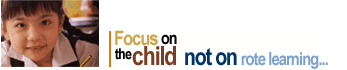 Focus on the child